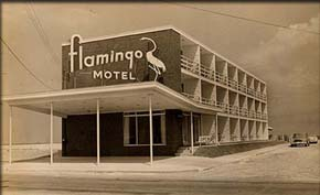 History Downtown Ocean City Md Motels Flamingo Motel